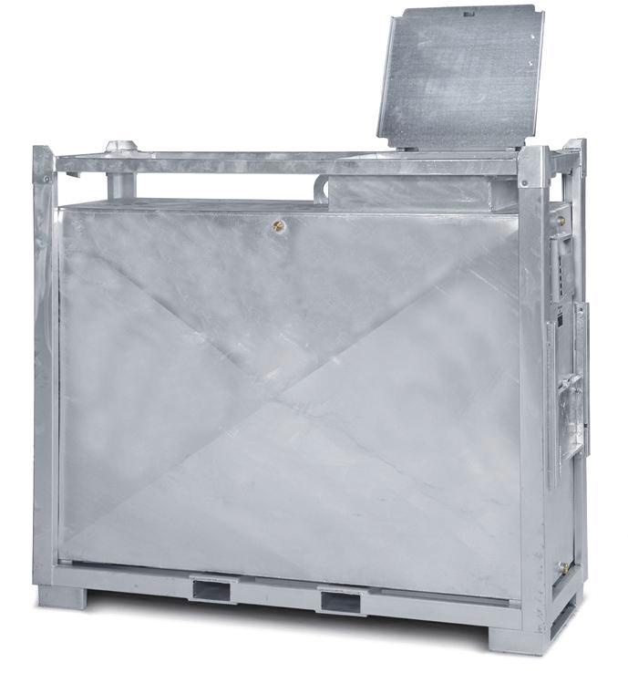 Supply tank for diesel and heating oil, 2000 litre volume - 1