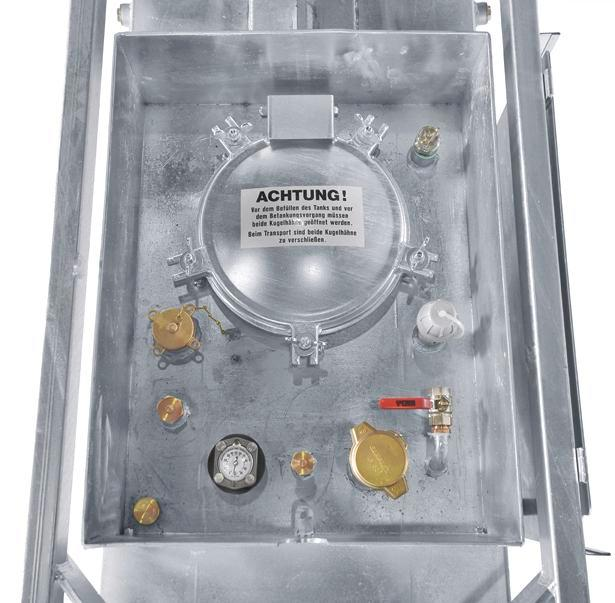 Supply tank for diesel and heating oil, 2000 litre volume - 3
