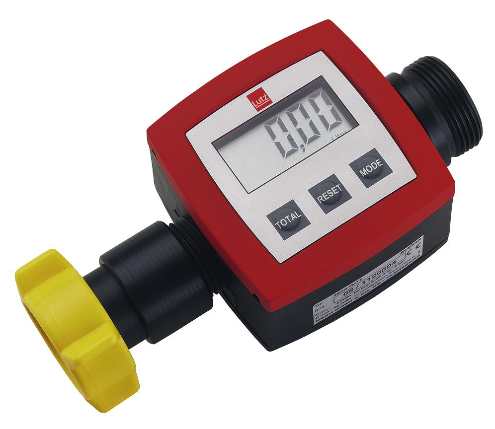 Throughflow meter of polypropylene (PP) for laboratory use - 1