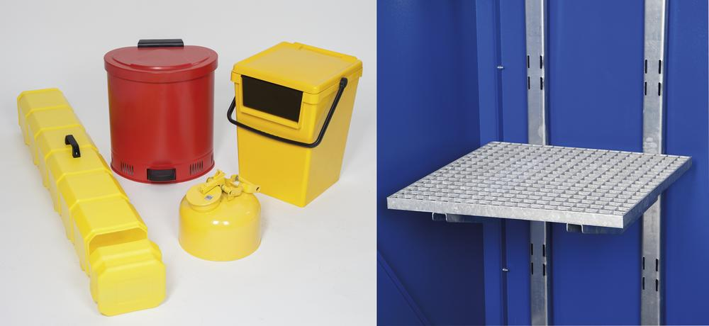 Equipment package for flammable substances - S