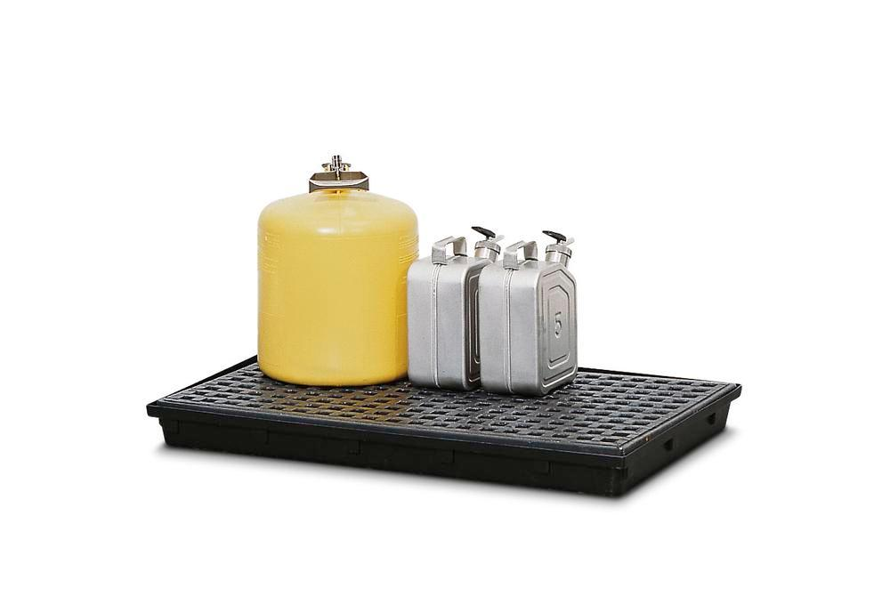 Grid, polyethylene, for polyethylene spill tray, 28 litre capacity - 1