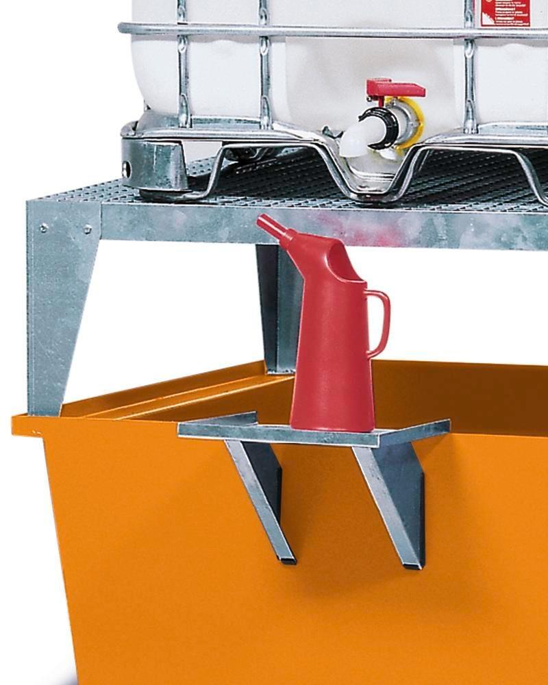 Add on dispensing tray for IBC spill pallets - 2