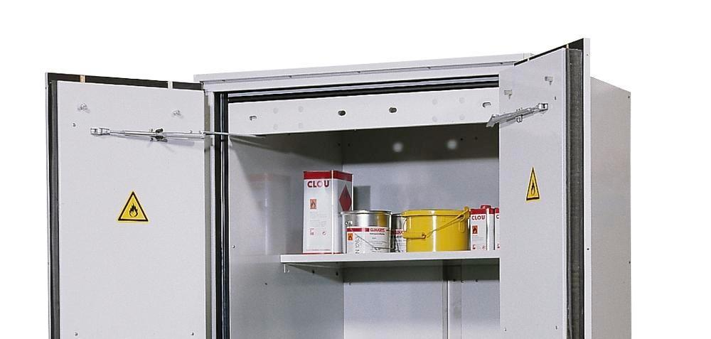 asecos additional shelf for drum cabinet VbF 90.2