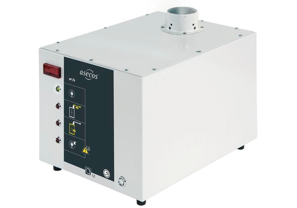 asecos air extraction monitoring Model EL with volumetric flow monitoring - 1