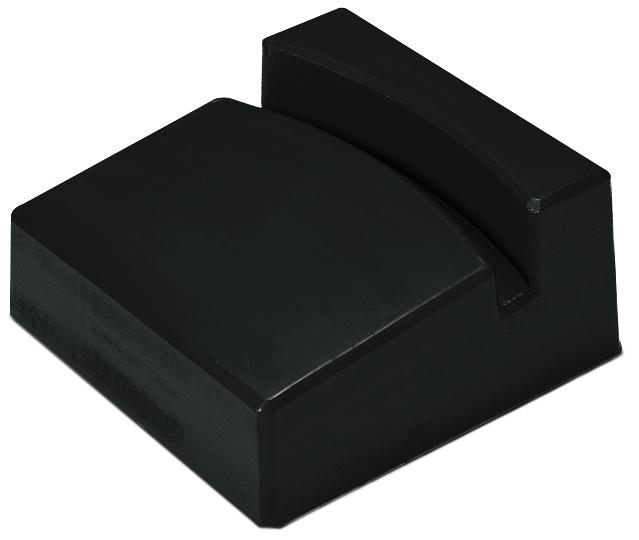 Drum rest, polyethylene, for optimum drum dispensing, for 205 litre drums