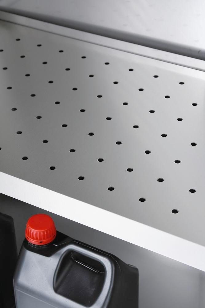 Perforated insert for chemicals cabinet inox-104.5 - 1