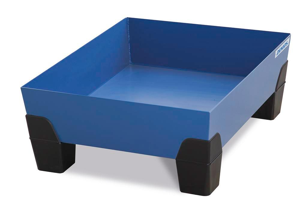 VarioTwin spill pallet, Type TW 62, painted, without grid, for 1 x 60 litre drum