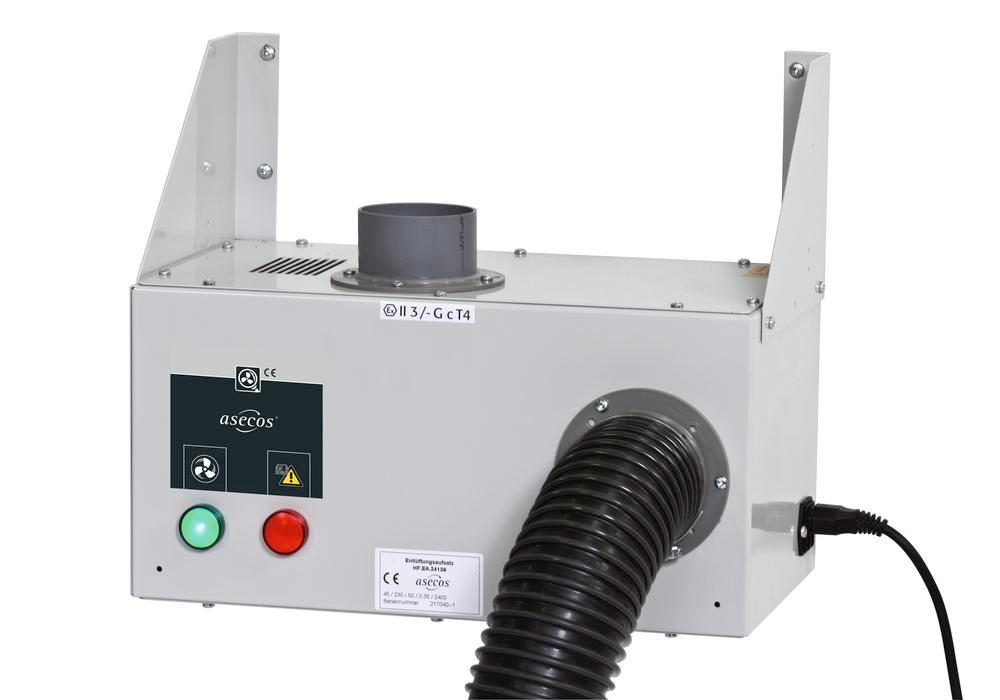 Ventilation attachment WM 12, wall-mounting, ready to plug in - 1