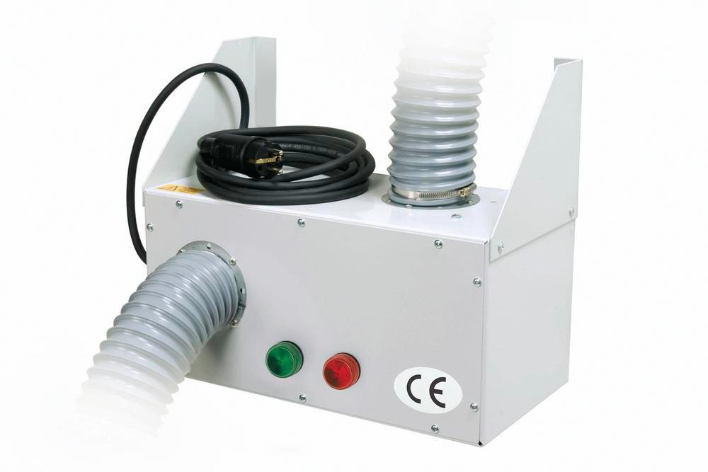 Ventilation attachment WP 12 with monitoring and alarm