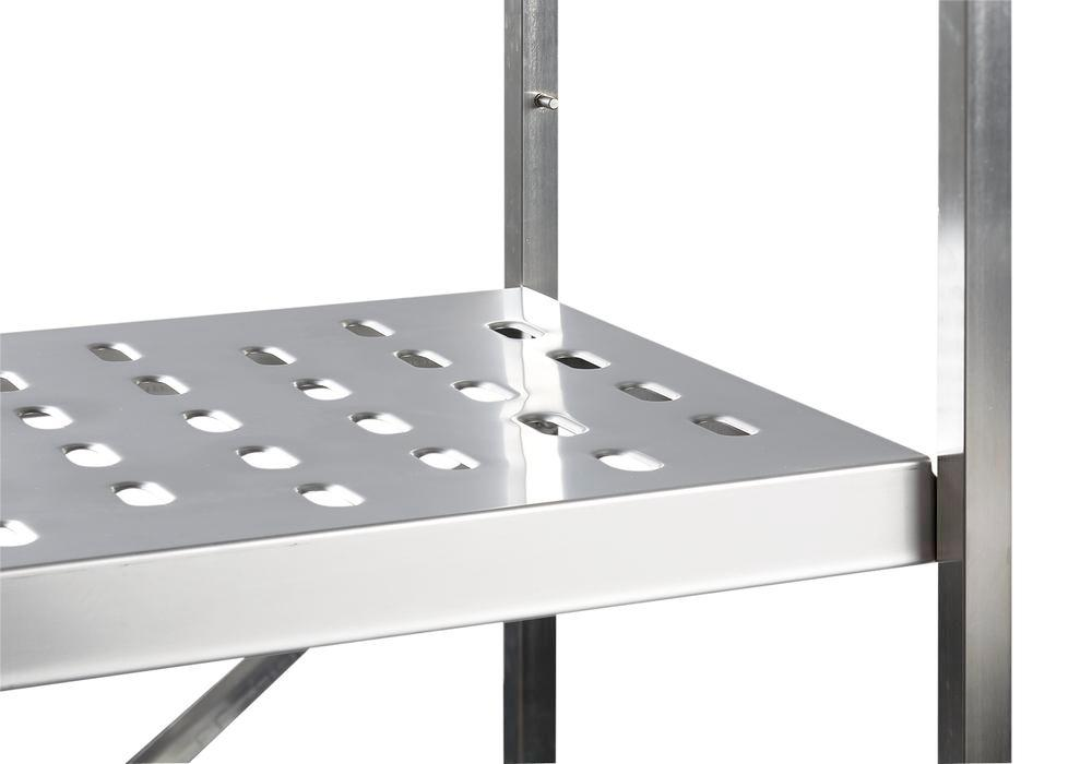 Additional metal shelf for hazardous material racking GRE 9030