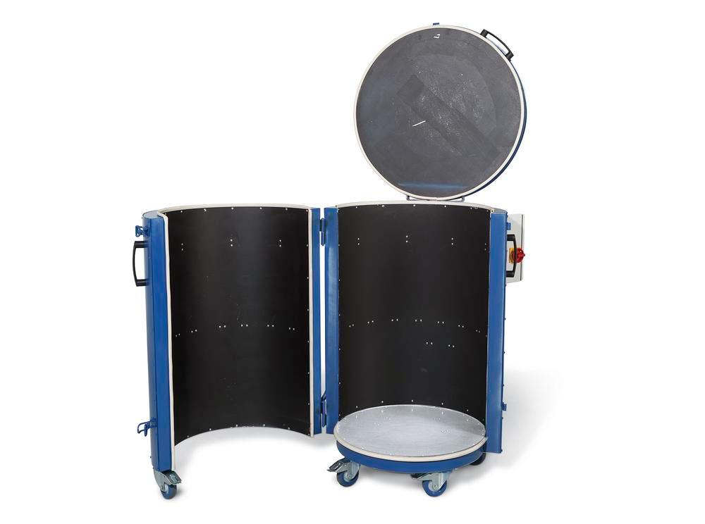 Drum heater type FH-K 1.5, for 200-litre drums