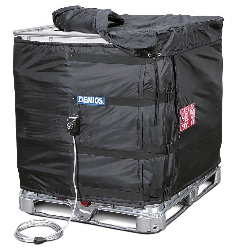 Insulated cover for IBCs - 2
