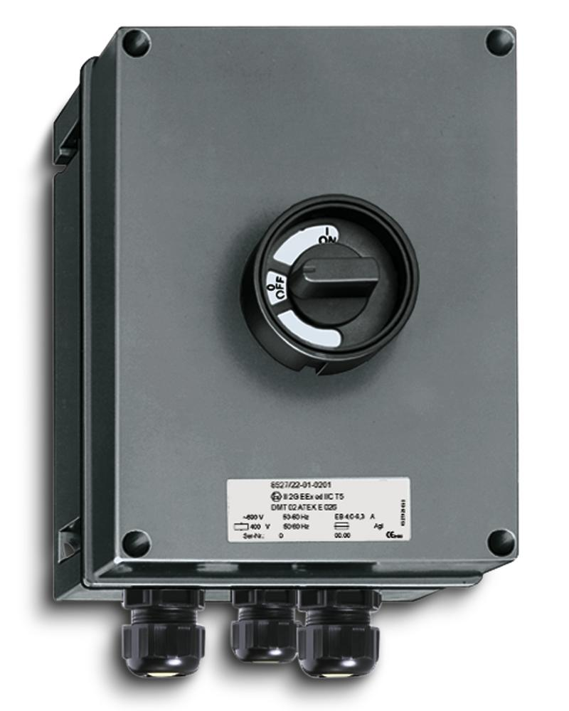 Motor protection switch - 1