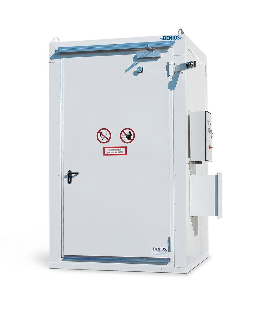 Compact fire-rated storage container RFP 115-10 - 2