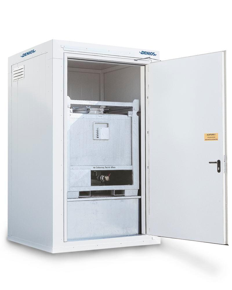 Compact fire-rated storage container RFP 115-10