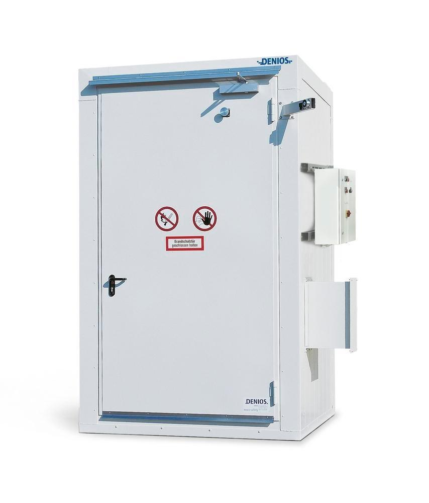 Fire-rated storage container RFP 115, compact - 1