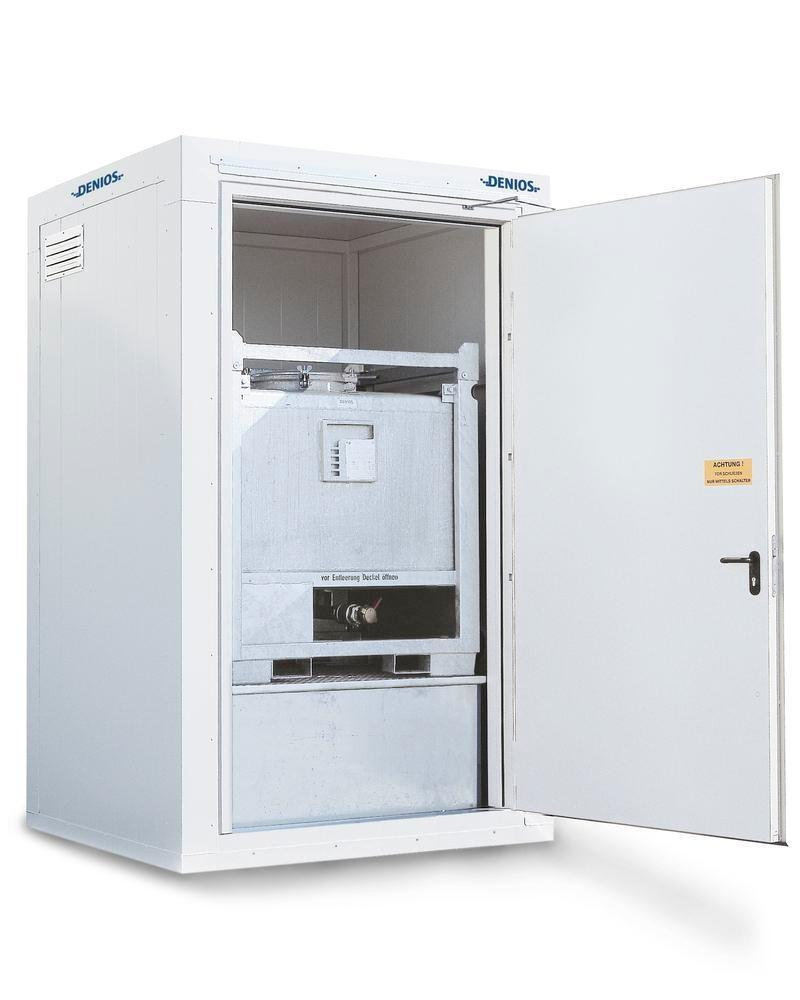 Fire-rated storage container RFP 115, compact