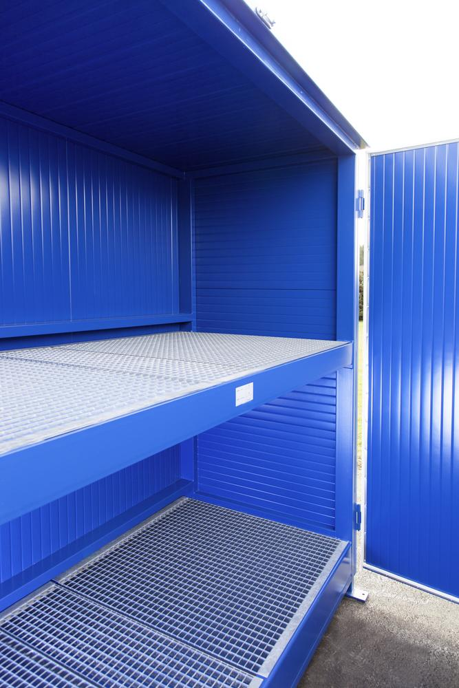 System container 2G 314.ISO, thermally insulated, wing doors, for up to 20x 200-litre drums - 3