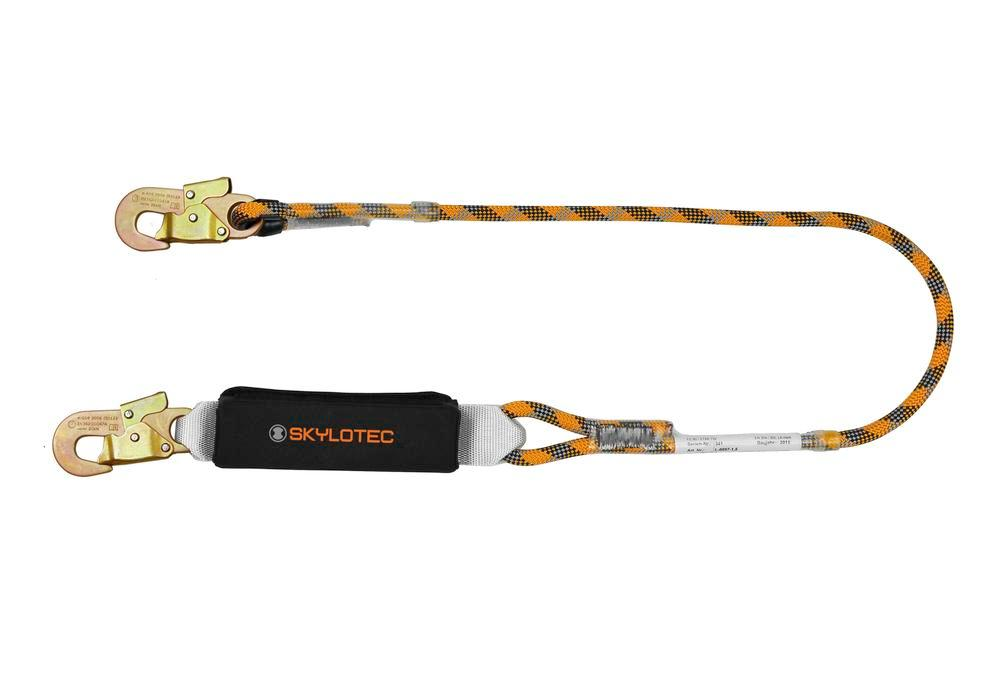 Lanyard with shock absorber, Version A 2 m