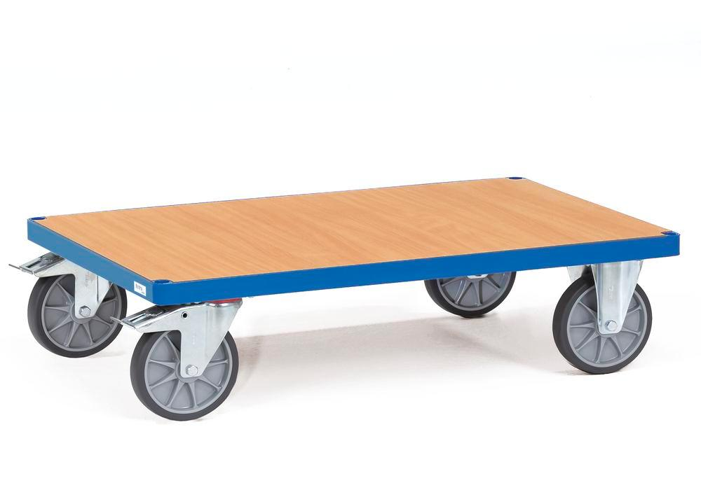 Multi-purpose trolley PW 10 with plastic coated MDF board as a loading surface