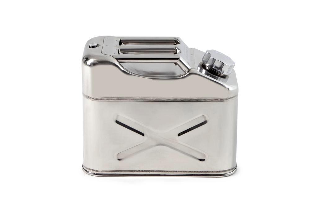 FALCON safety canister in stainless steel, with transport approval, 10 litres - 4