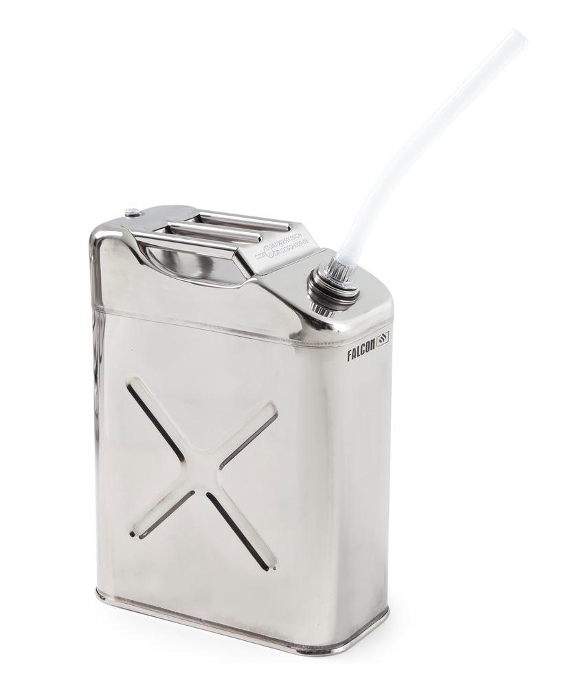 FALCON safety canister in stainless steel, with transport approval, 20 litres - 2
