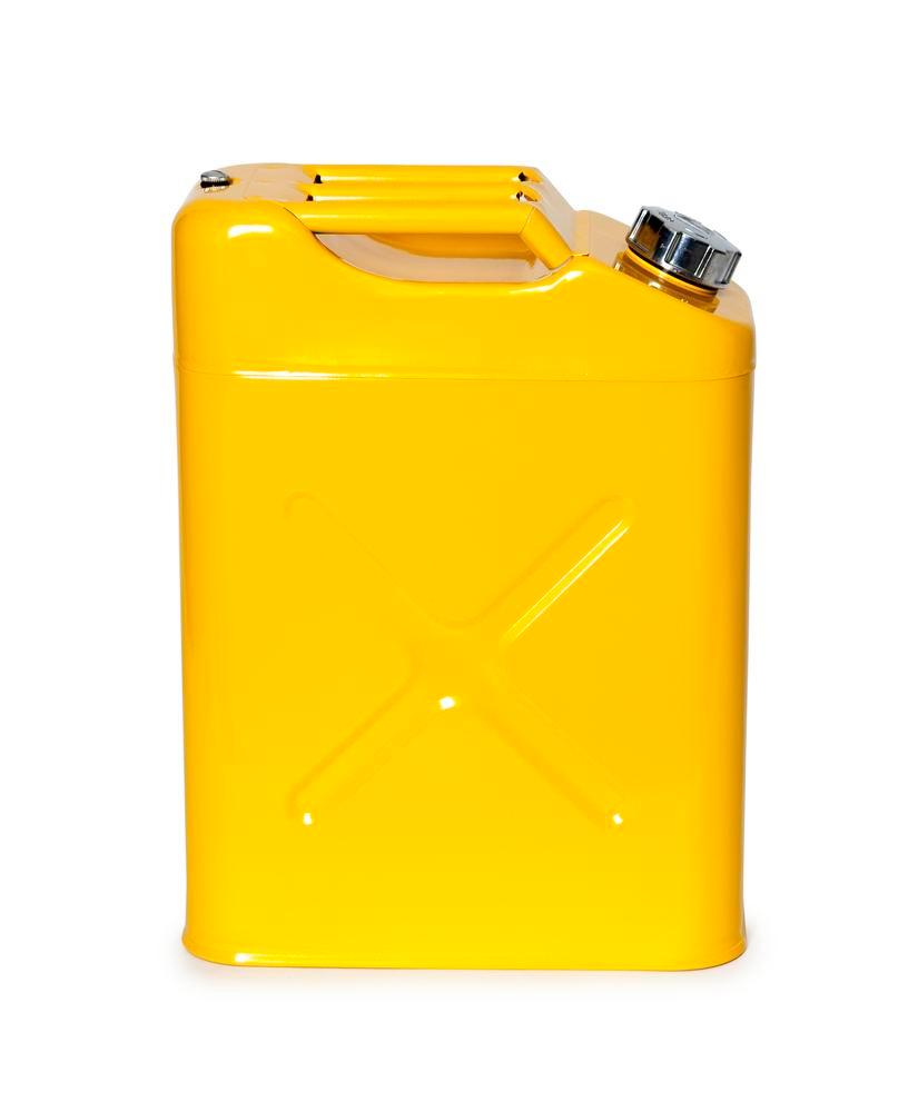 FALCON safety canister in steel, painted, with transport approval, 20 litres - 2