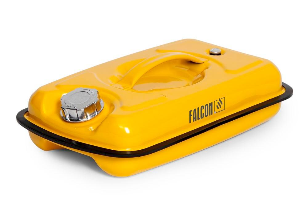 FALCON safety container in steel, painted, with transport approval, 5 litres - 2