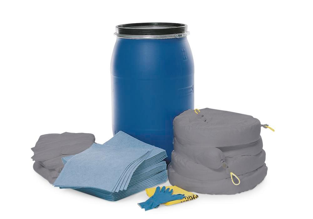 DENSORB Emergency Spill Kit in Drum Type S 170, application UNIVERSAL