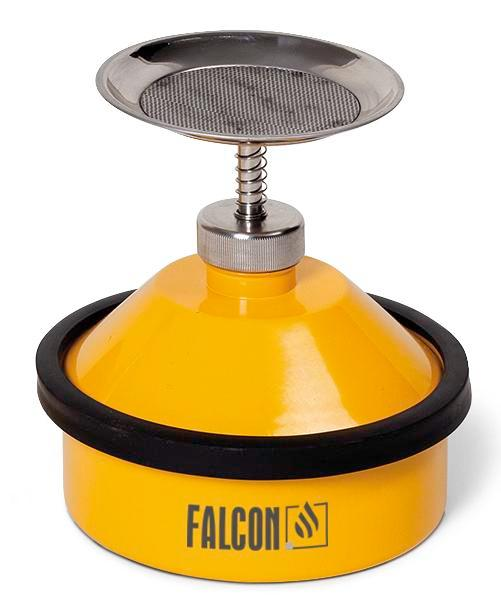 FALCON plunger can in steel, painted, 1 litre
