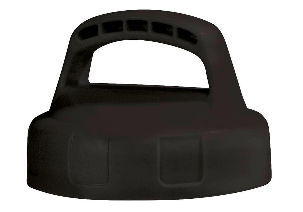 Function lid for liquid container, closed, black - 1