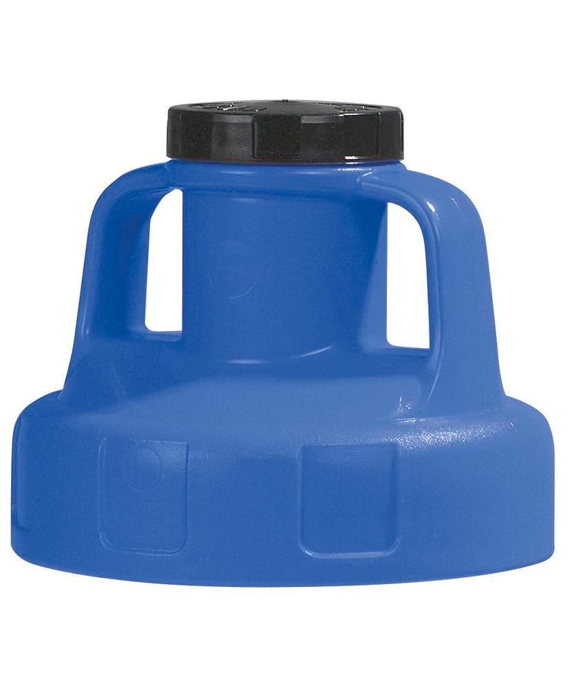 Function lid for liquid container, for pump, blue - 1