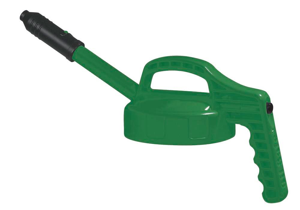 Lid, for dispensers, With Long Spout, Green - 1