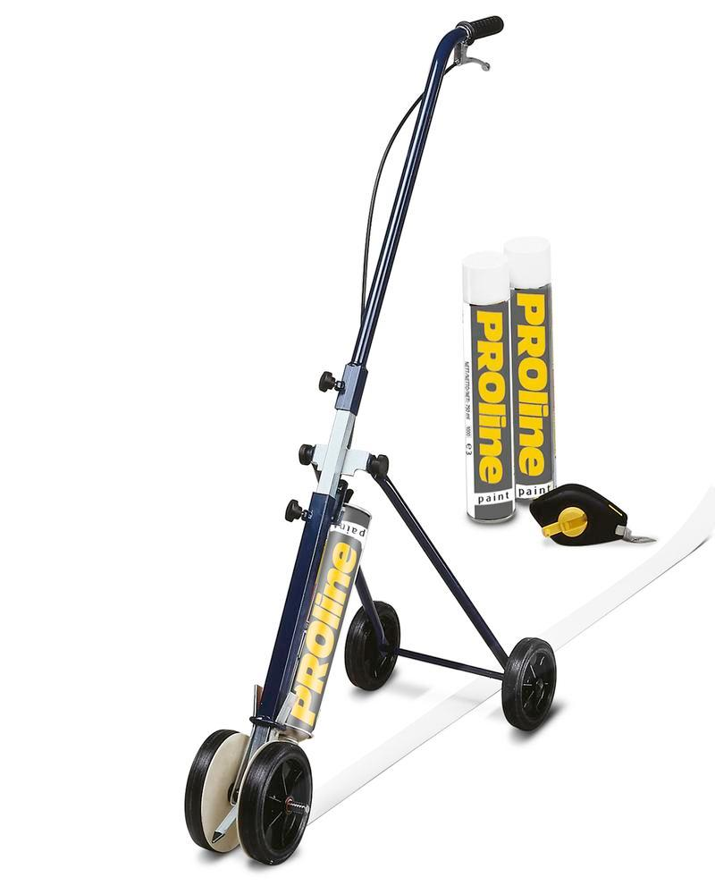 Line marking equipment, including mobile marking equipment 50 and 2 cans paint, white