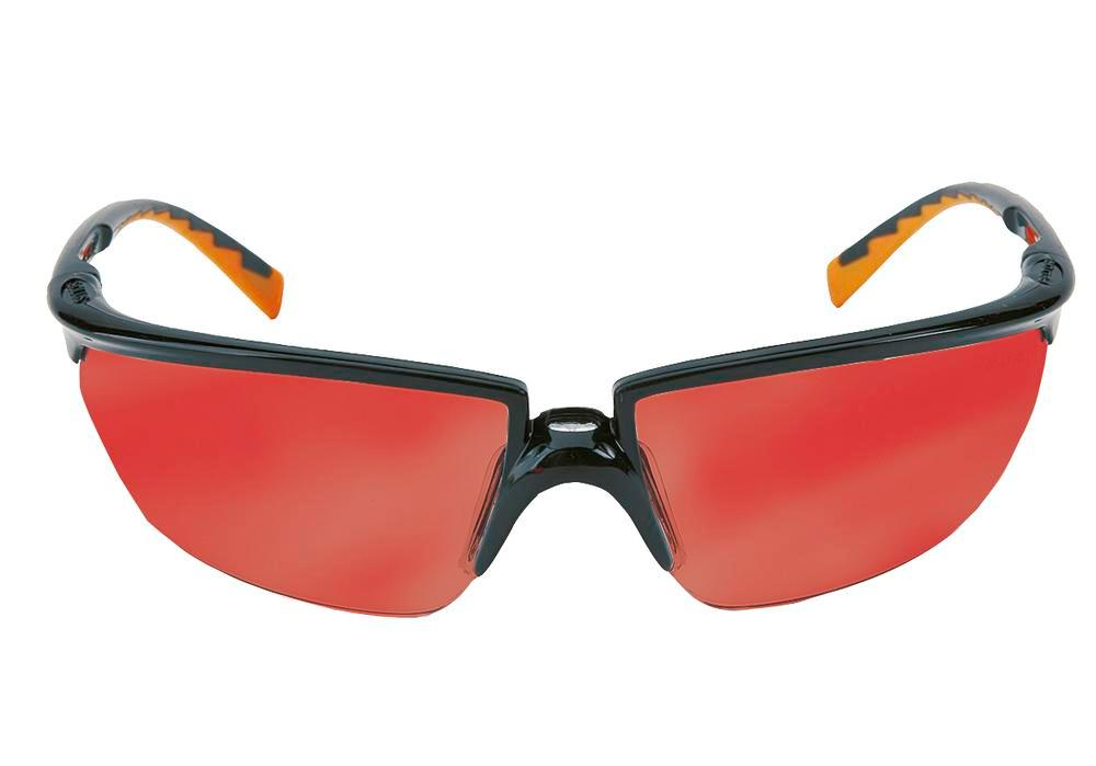 Safety glasses Solus, mirror red