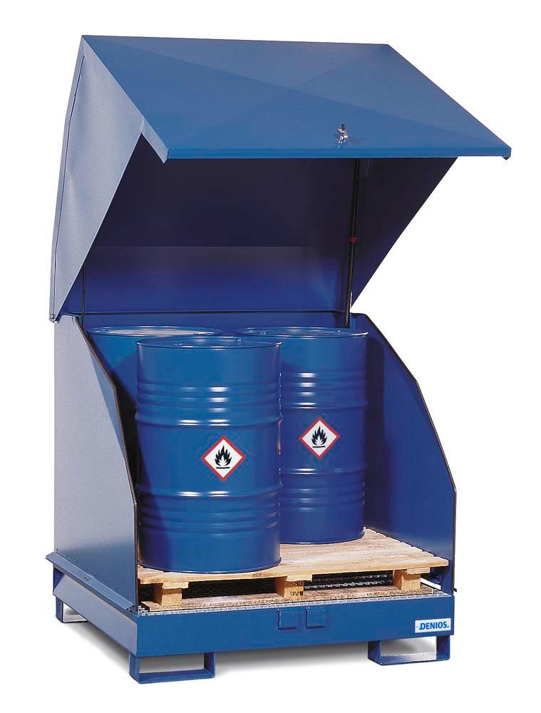 Galvanized Hazardous Material Station 4 GST-KS