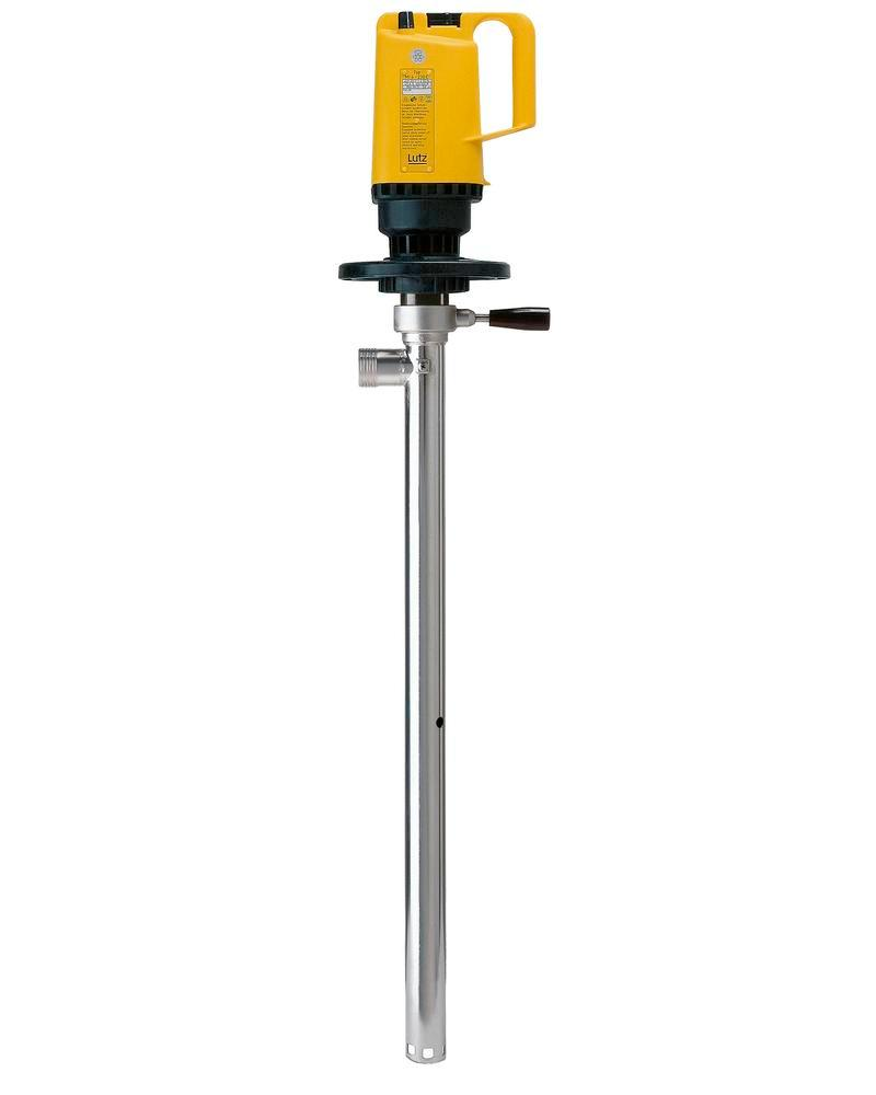 Stirrer and container pump, stainless steel, for water based paints and oil mixtures - 1