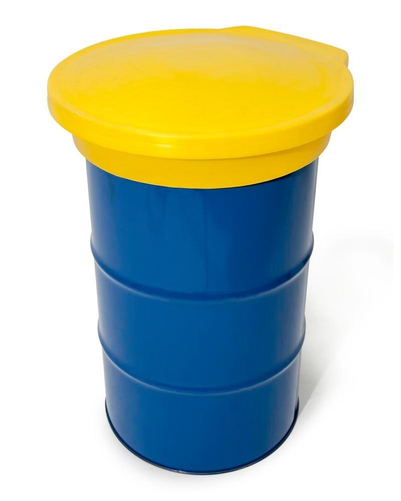 FALCON lid in polyethylene (PE), for round drum funnel Ø 645-650 mm