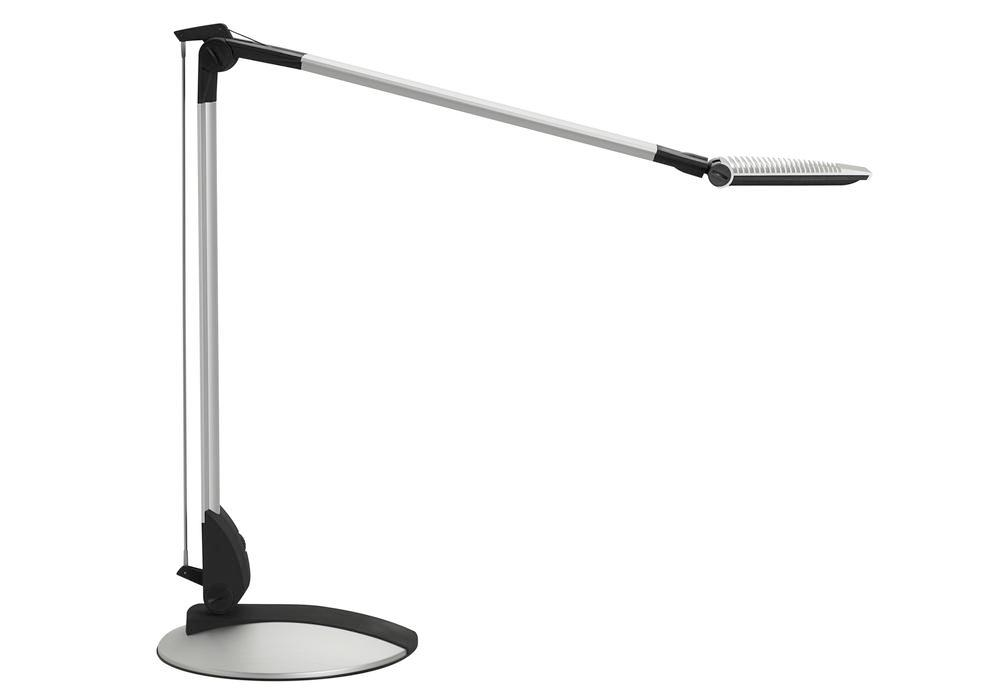 LED work light Carpo, dimmable, with stand, silver