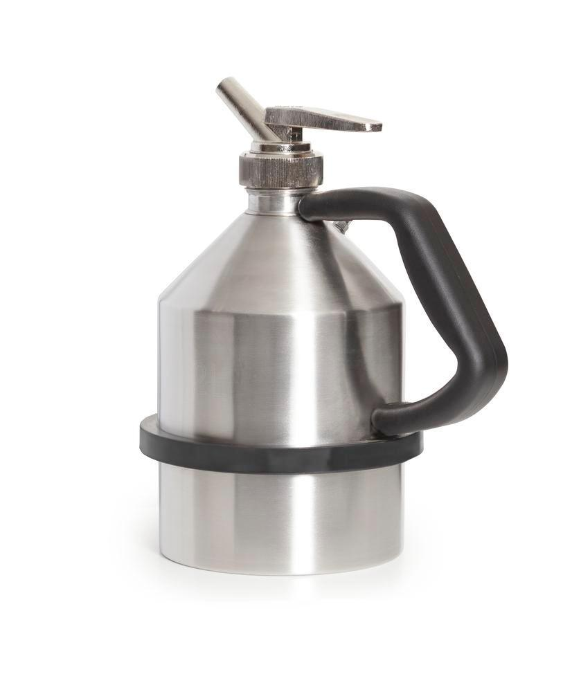 FALCON safety jug in stainless steel, with fine dosing tap, 2 litres - 1