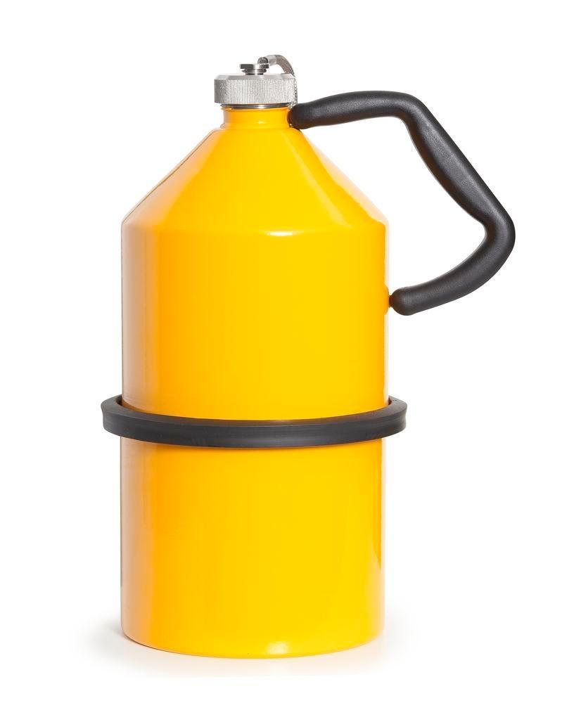 FALCON safety jug in steel, painted, with screw cap, 5 litres - 4