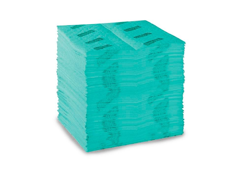 DENSORB Absorbent Pads Premium Triple, Universal, Heavy, 3 Layers, 40 x 50 cm, Pack of 100