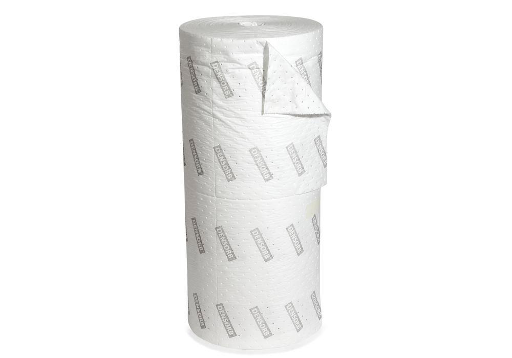 DENSORB Absorbent Roll Economy Double, Oil, Light, 2 Layers, 100 cm x 90 m
