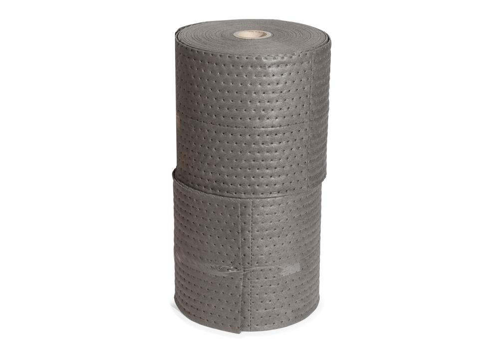 DENSORB Absorbent Rolls Economy Single, Universal, Grey, Heavy, 38 cm x 45 m, Pack of 2