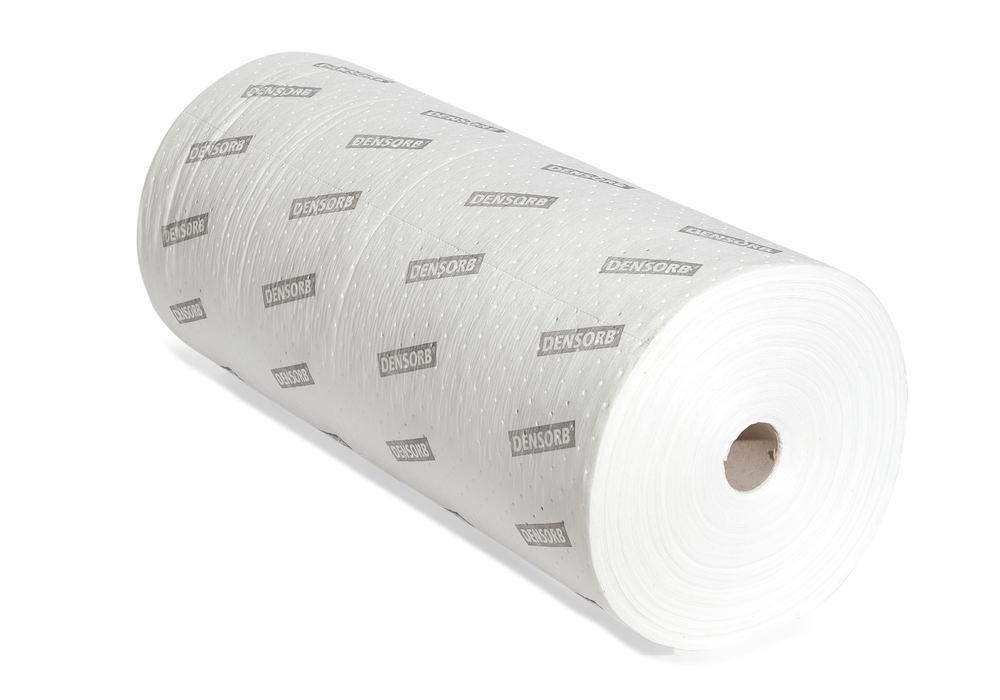 DENSORB Oil ab. materials, fleece roll for absorbing, Economy Double, light, 2 layer, 100 cm x 90 m - 1