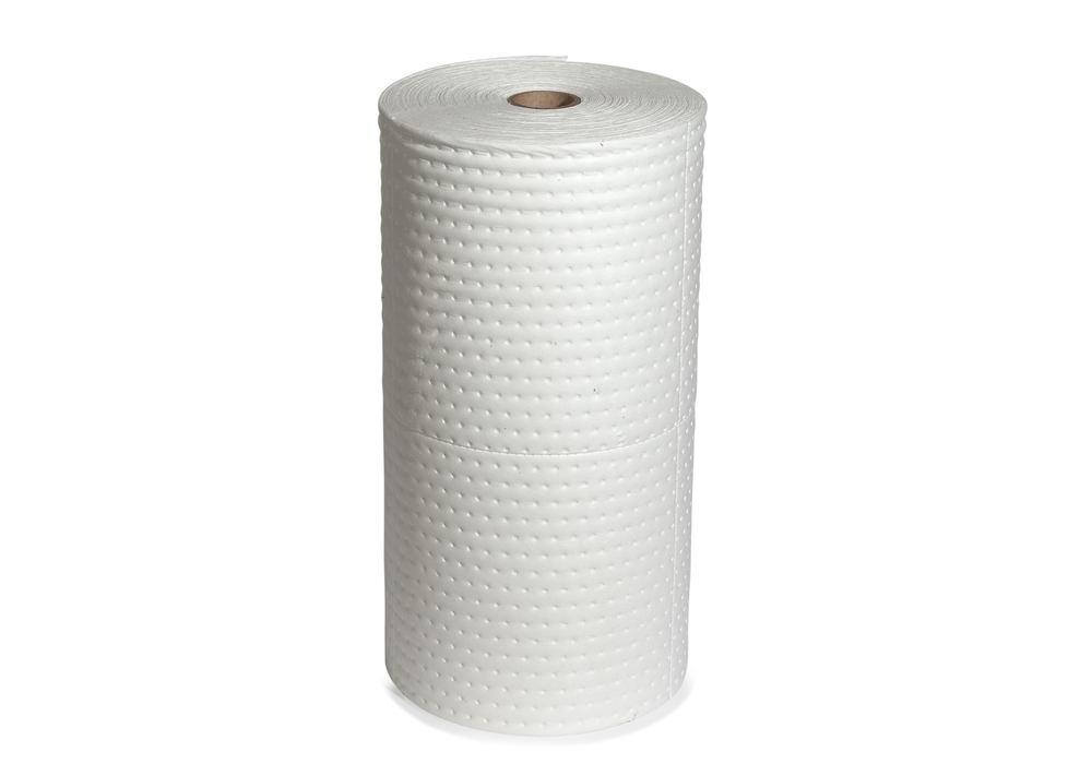 DENSORB Oil ab. materials, fleece roll for absorbing, Economy Single, heavy, 76 cm x 45 m