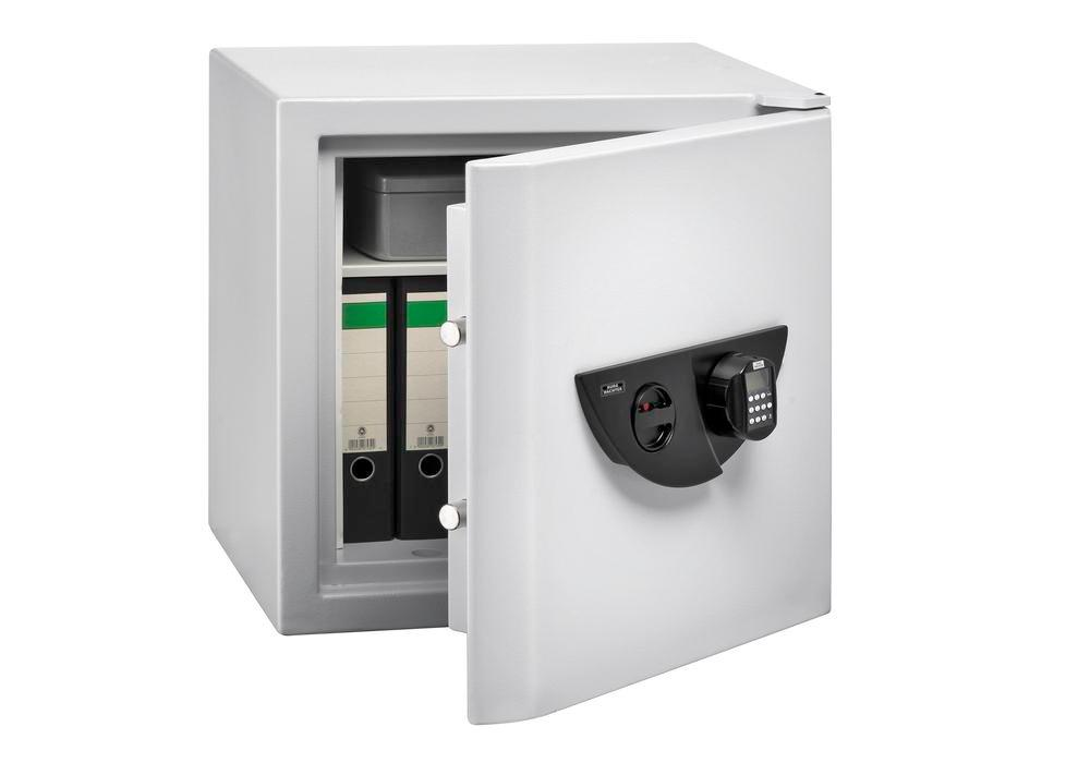 Document cabinet Office-Doku 121 E, with electronic combination lock and fingerscan module