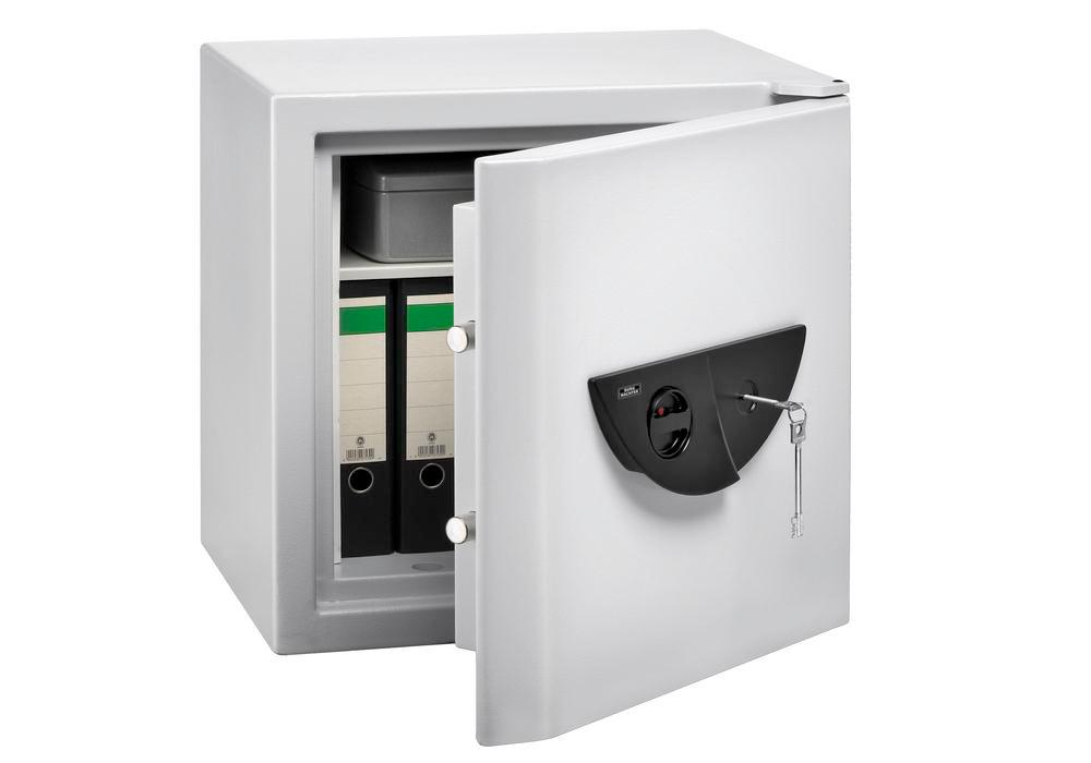 Document cabinet Office-Doku 121 S, with adaptable high security double-bitted lock