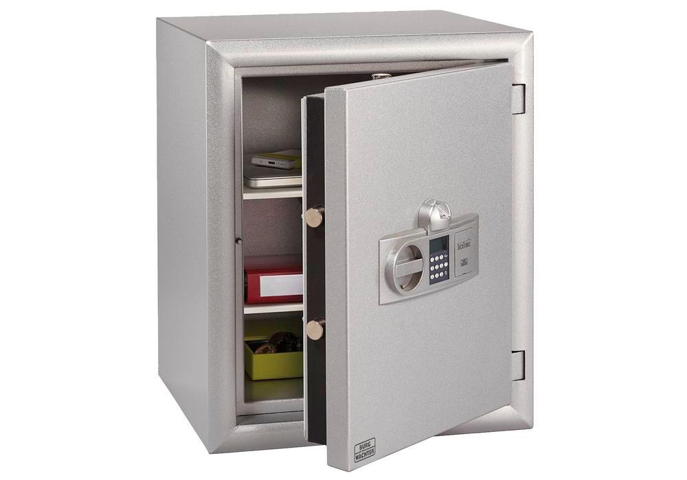 Safe Diplomat MTD 36 F60 E, with electronic combination lock and fingerscan module