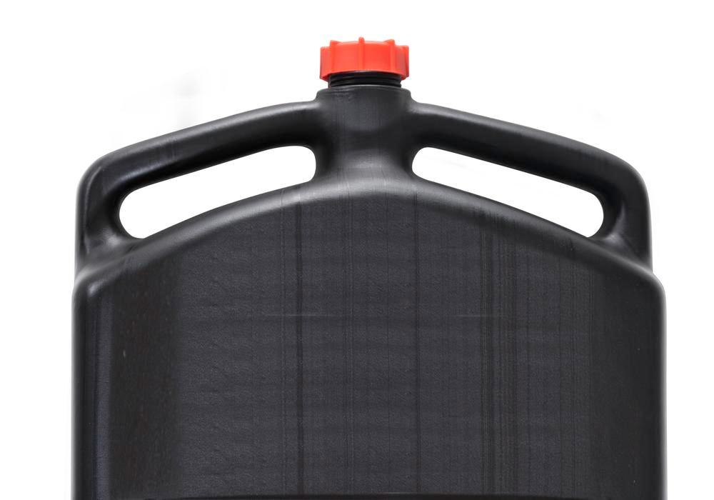 Waste Oil and Coolant Sump, 8 litres, closed, rectangular, with 3 handles
